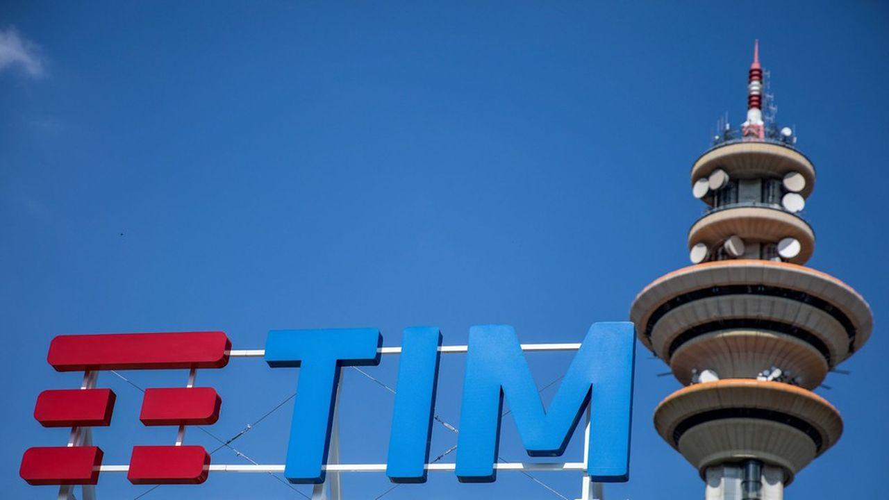 Siège de TIM près de Milan.