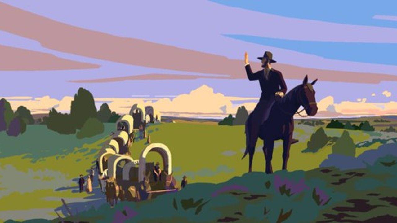 Le film raconte l'histoire de Martha Jane, qui doit apprendre à conduire le chariot familial dans un convoi de l'Ouest américain.