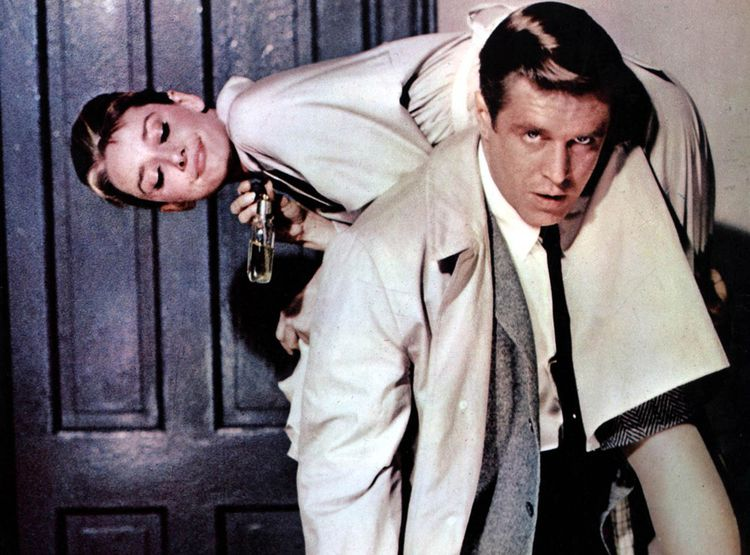 Audrey Hepburn et George Peppard dans 'Diamants sur canapé'
