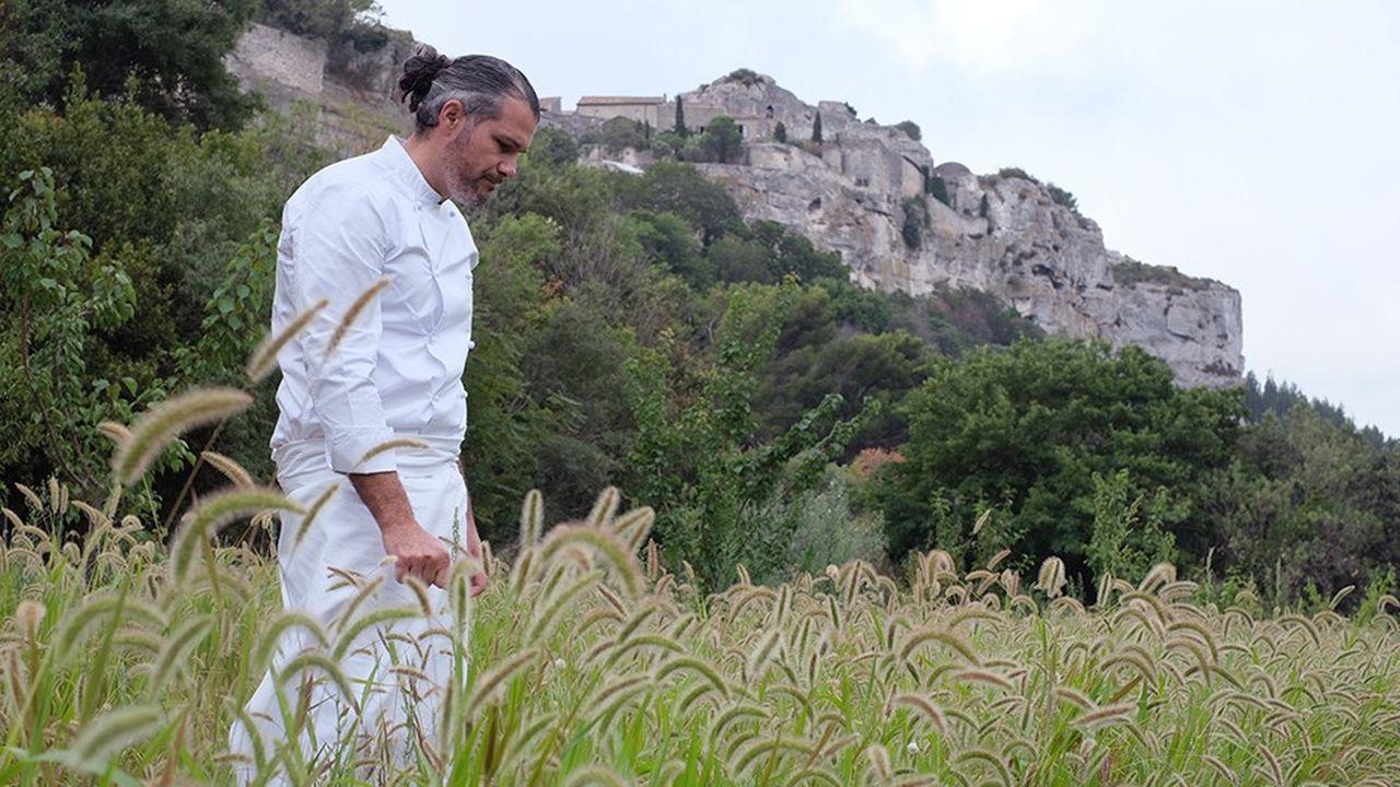 Glenn Viel, chef trois étoile de L'Oustau de Baumanière aux Baux-de-Provence.