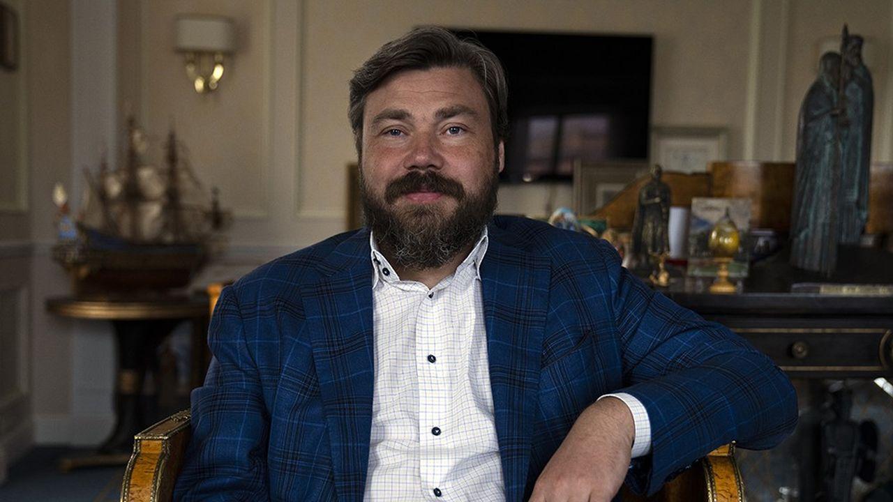 Konstantin Malofeev, homme d'affaires et personnalité publique, président du conseil d'administration du Groupe Tsargrad; Moscou, 15 juin 2020