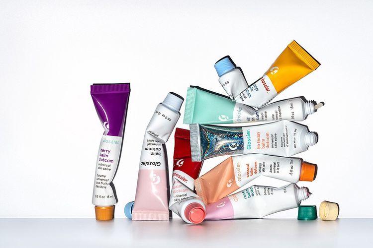 La marque de cosmétiques Glossier est l'une des pionnières sur le marché de la génération Z.