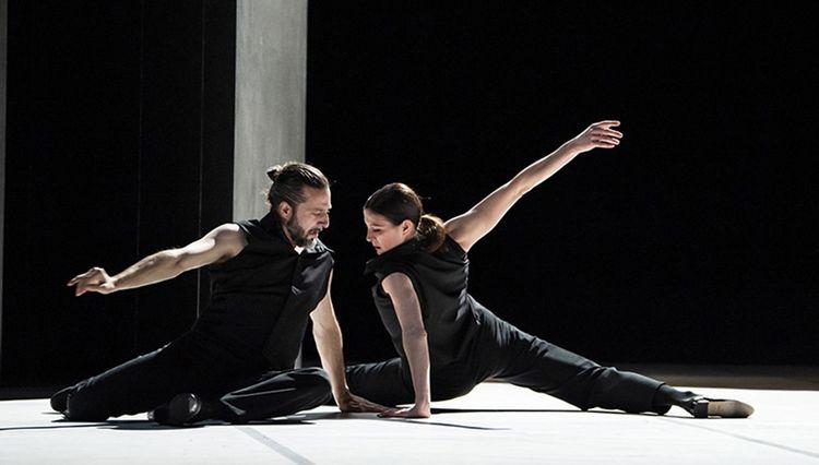 Marie-Agnès Gillot et Andrés Marín