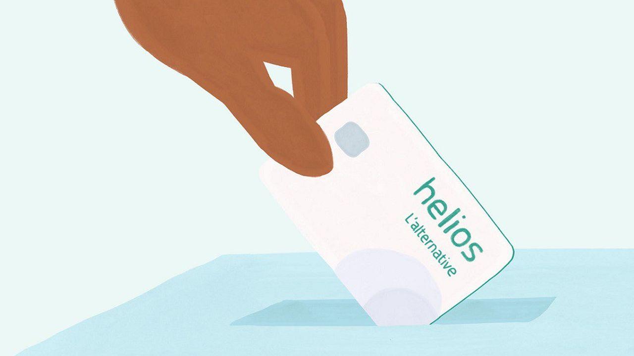 Les comptes courants d'Helios seront accompagnés d'une carte de paiement unique, ainsi que d'une application qui permettra à ses clients de vérifier en permanence comment leur argent est utilisé.