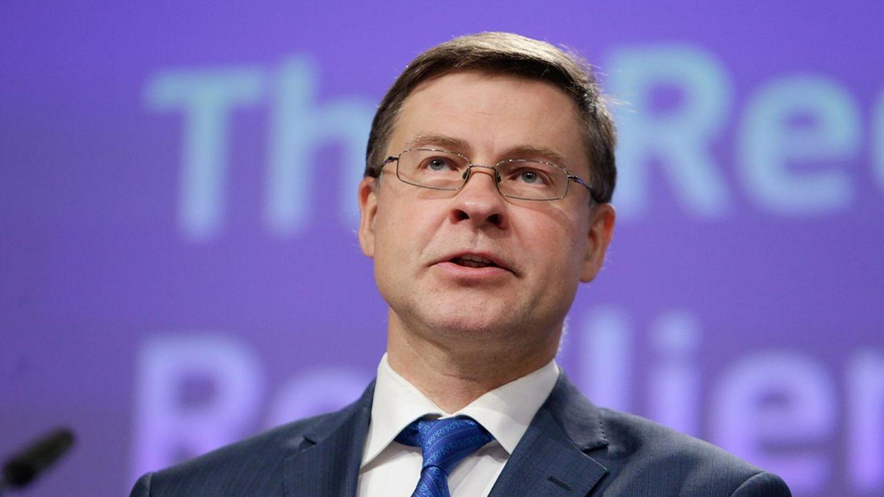Valdis Dombrovskis a chargé l'ESMA d'une analyse de l'affaire Wirecard.
