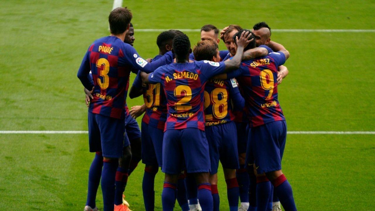 Espagne: le FC Barcelone trébuche chez le Celta Vigo 2-2 mais repasse  provisoirement leader | Les Echos