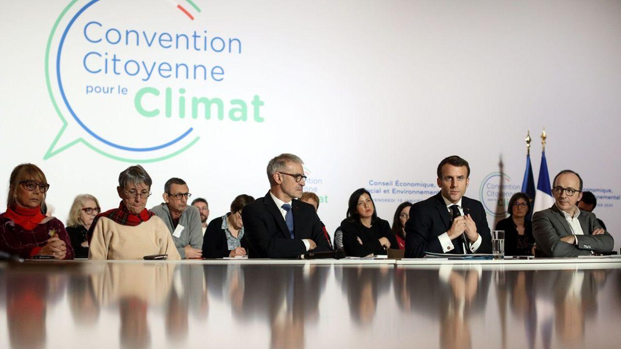 En janvier dernier, Emmanuel Macron avait eu une première rencontre avec les 150 membres de la Convention citoyenne pour le climat