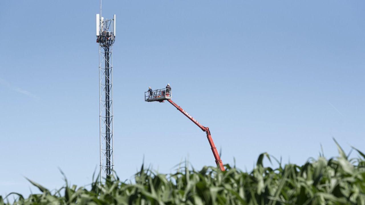 250nouveaux pylônes ont été dressés en zone rurale pendant le confinement, selon le ministère de la Cohésion des territoires