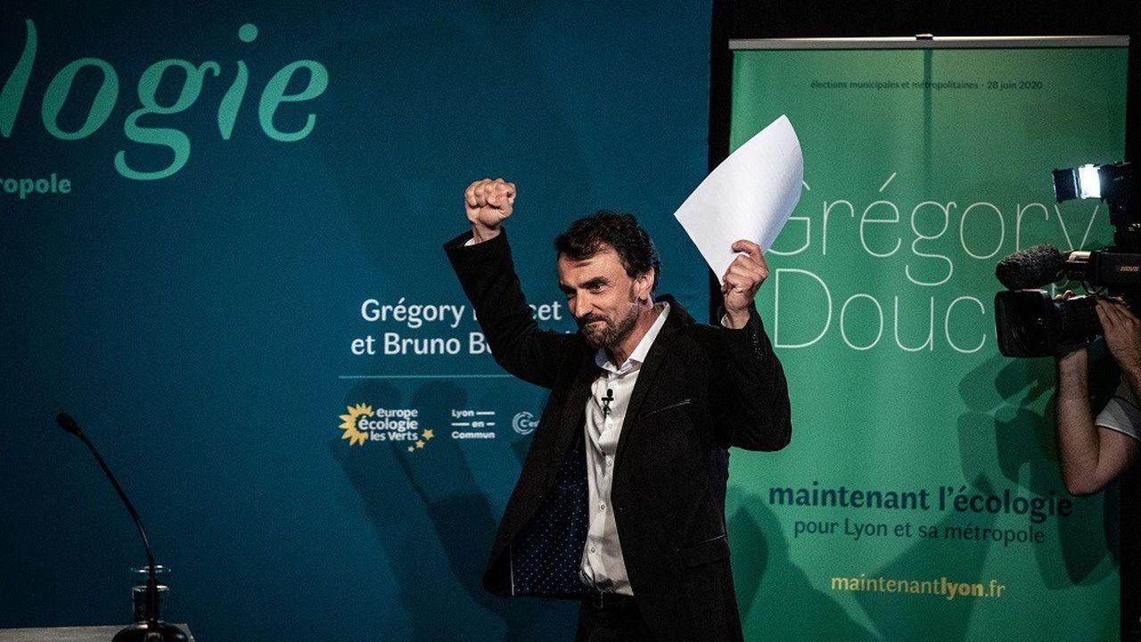 L'écologiste Grégory Doucet a remporté la mairie de Lyon.