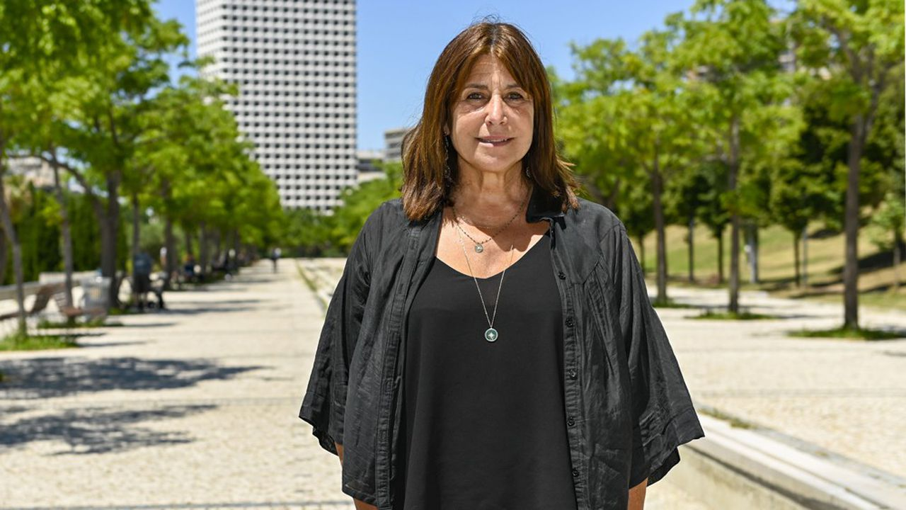 Michèle Rubirola, candidate du Printemps marseillais pour la mairie de Marseille.