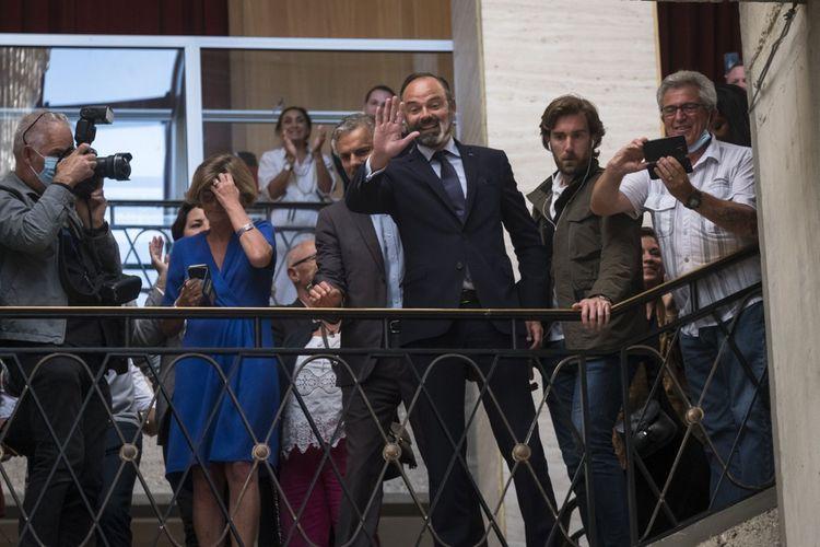 Edouard Philippe, Premier ministre, a remporté l'élection auHavre.