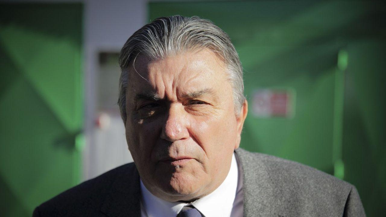 Jean-Paul Fournier est aux commandes de Nîmes depuis 2001.
