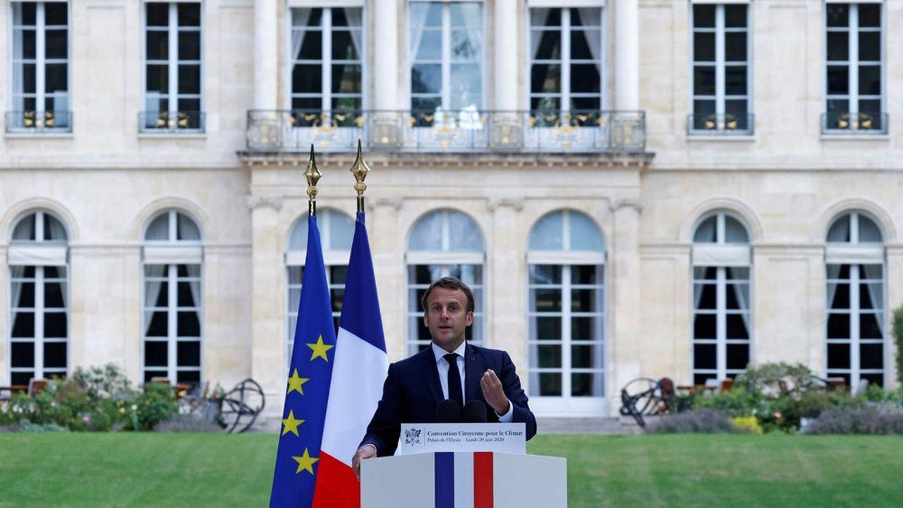 Macron retient 146 propositions sur 149 — Convention climat