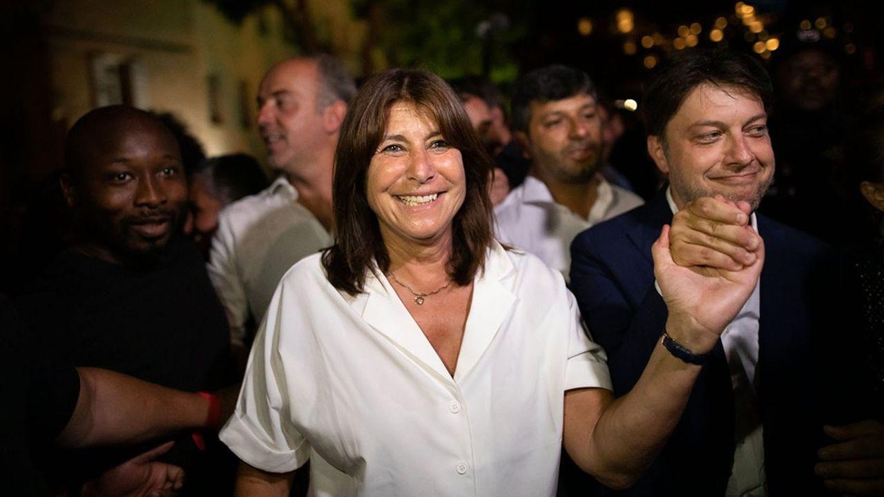 Michèle Rubirola, dimanche soir, ne cachait pas les difficultés du troisième tour malgré une victoire surprenante au second tour.