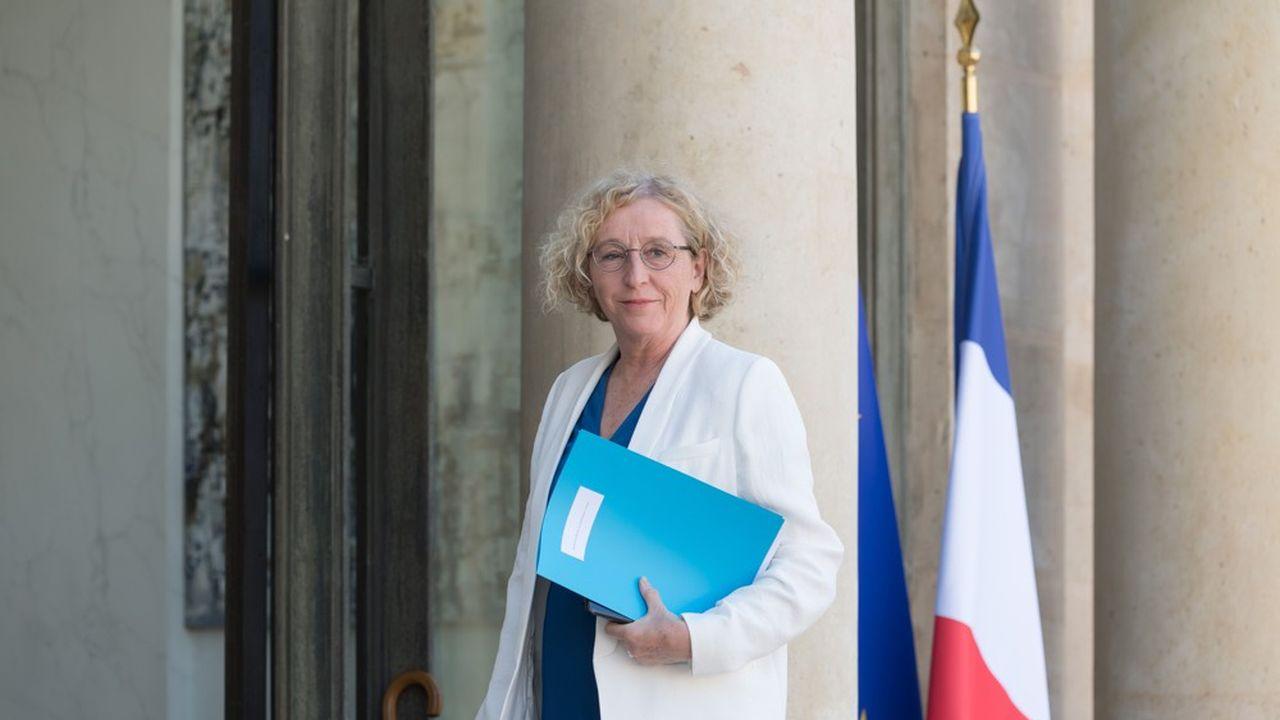 La ministre du Travail Muriel Penicaud.