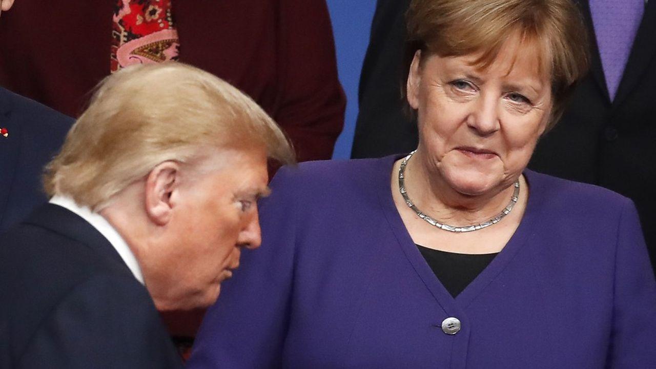 Face à la superpuissance américaine, c'est l'Allemagne qui, parmi les Etats européens, en impose davantage dans la relation transatlantique.