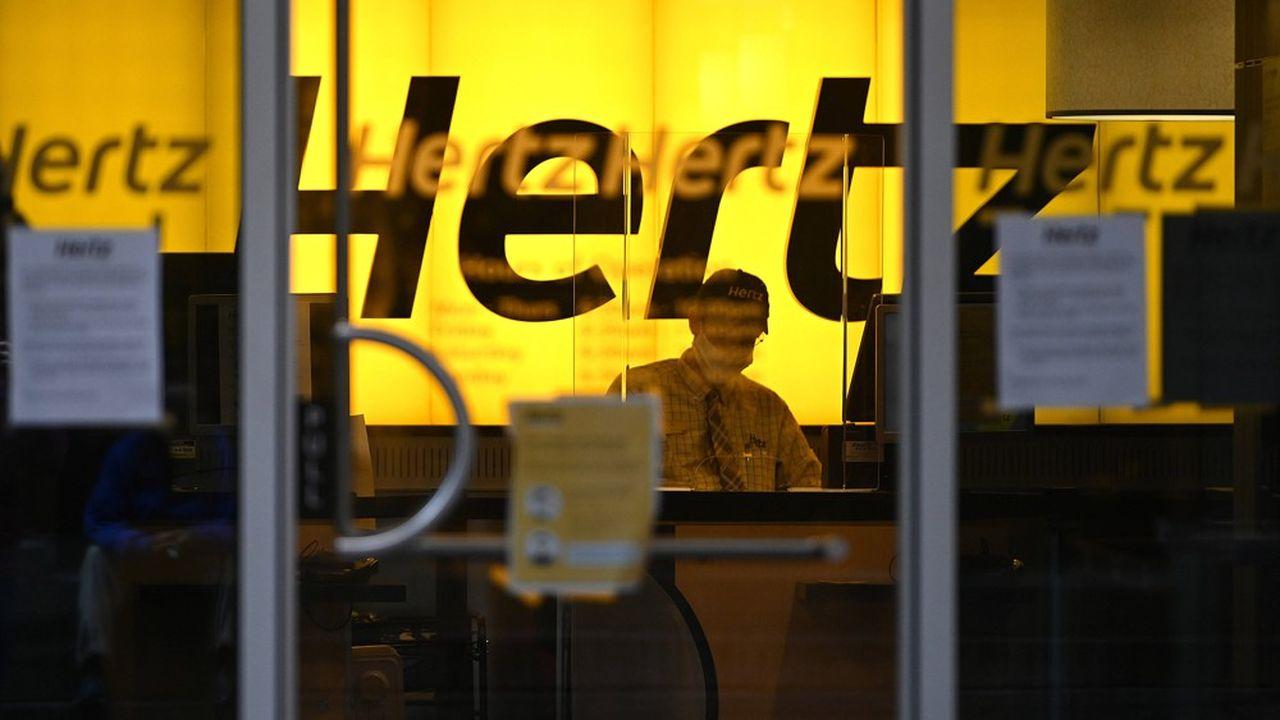 Hertz s'est placé fin mai sous le chapitre 11 du régime américain des faillites, avec plus de 24milliards de dollars de passifs.