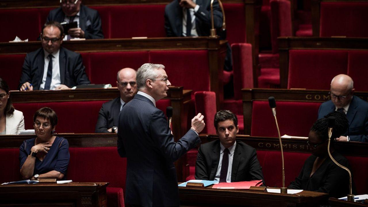 Bruno Le Maire a annoncé à l'Assemblée nationale que la «dette Covid» sera remboursée «en la cantonnant et en la séparant des 100 points de dette initiale».