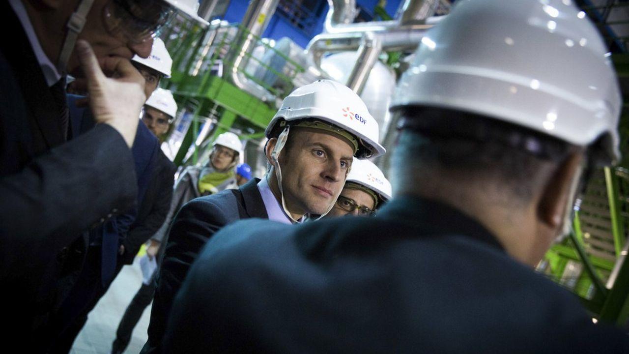 D'ici à 2035, Emmanuel Macron veut limiter la production d'électricité d'origine nucléaire à 50% du mixe électrique contre 70% aujourd'hui.