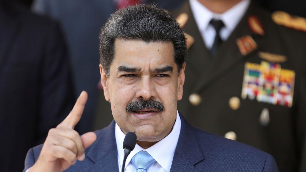 Pour Nicolás Maduro, les nouvelles sanctions européennes ne passent pas.