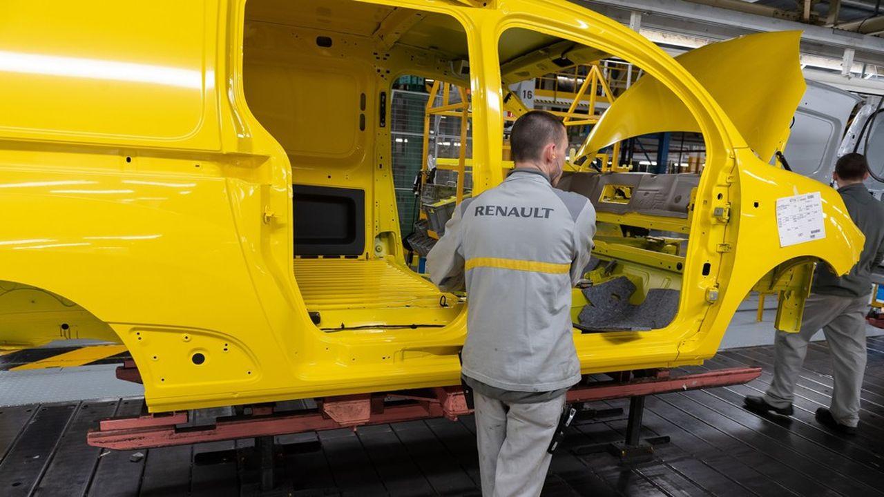 L'usine de Renault de Maubeuge où sont fabriqués des Kangoos et des utilitaires Mercedes-Benz.