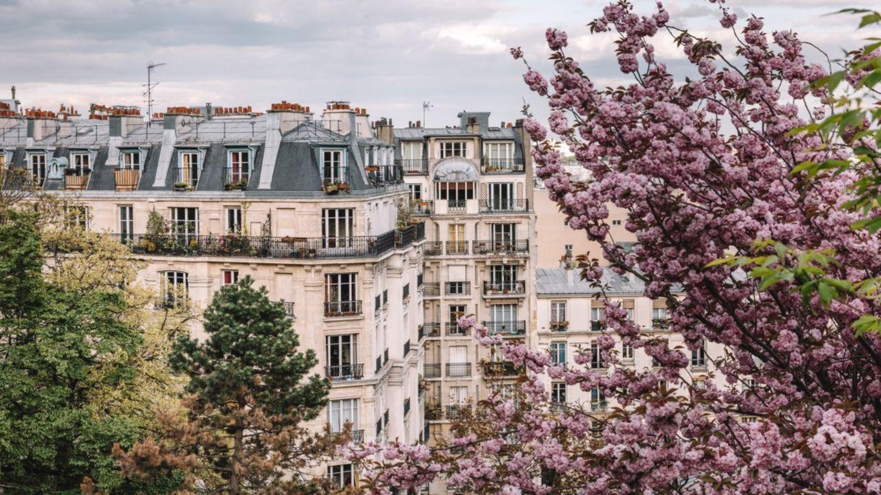 Les notaires du Grand Paris s'attendent en août à « un prix de 10.750 euros le m² à Paris, encore en hausse annuelle de 7,7 % ».
