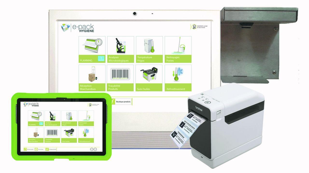 L'entreprise brestoise a progressivement développé une cinquantaine de modules numériques.