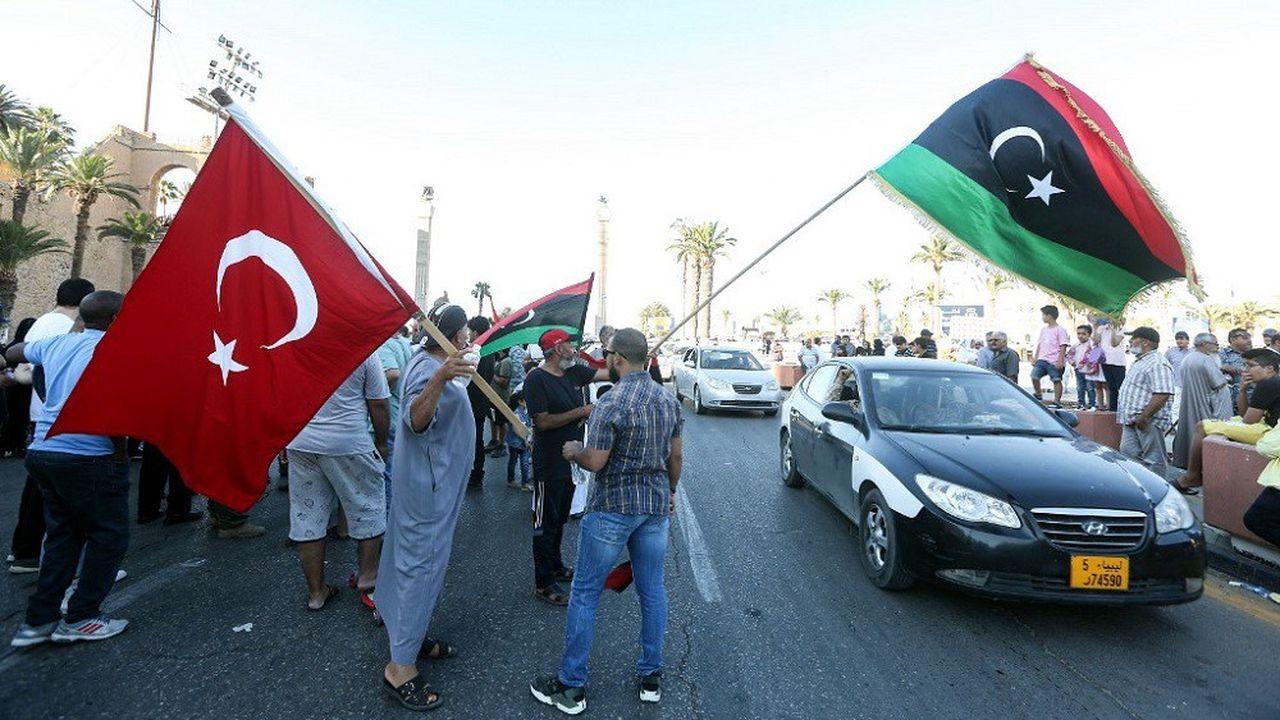 La Turquie soutient militairement les troupes du GNA, le gouvernement libyen reconnu par l'ONU.