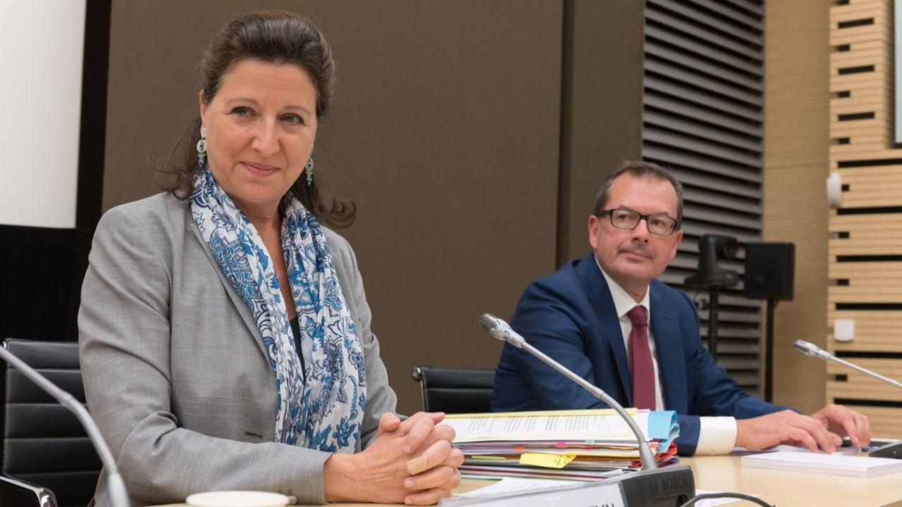 Agnès Buzyn, lors de son audition à l'Assemblée.