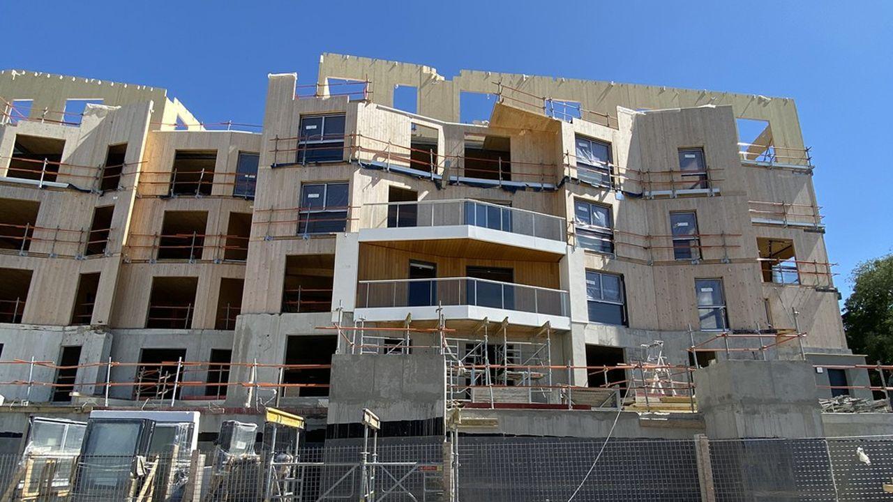 Selon l'étude, le coût de construction médian avoisine 1.740 euros HT/le mètre carré.