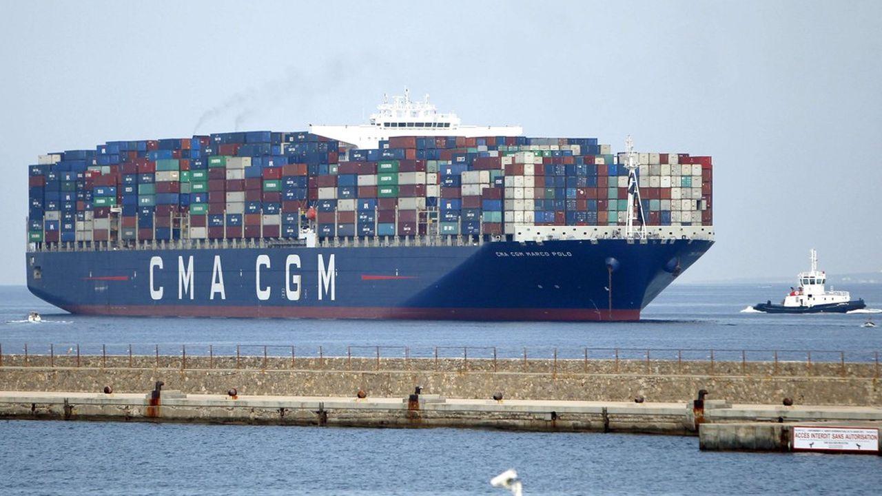 Le «Marco Polo» à Marseille.