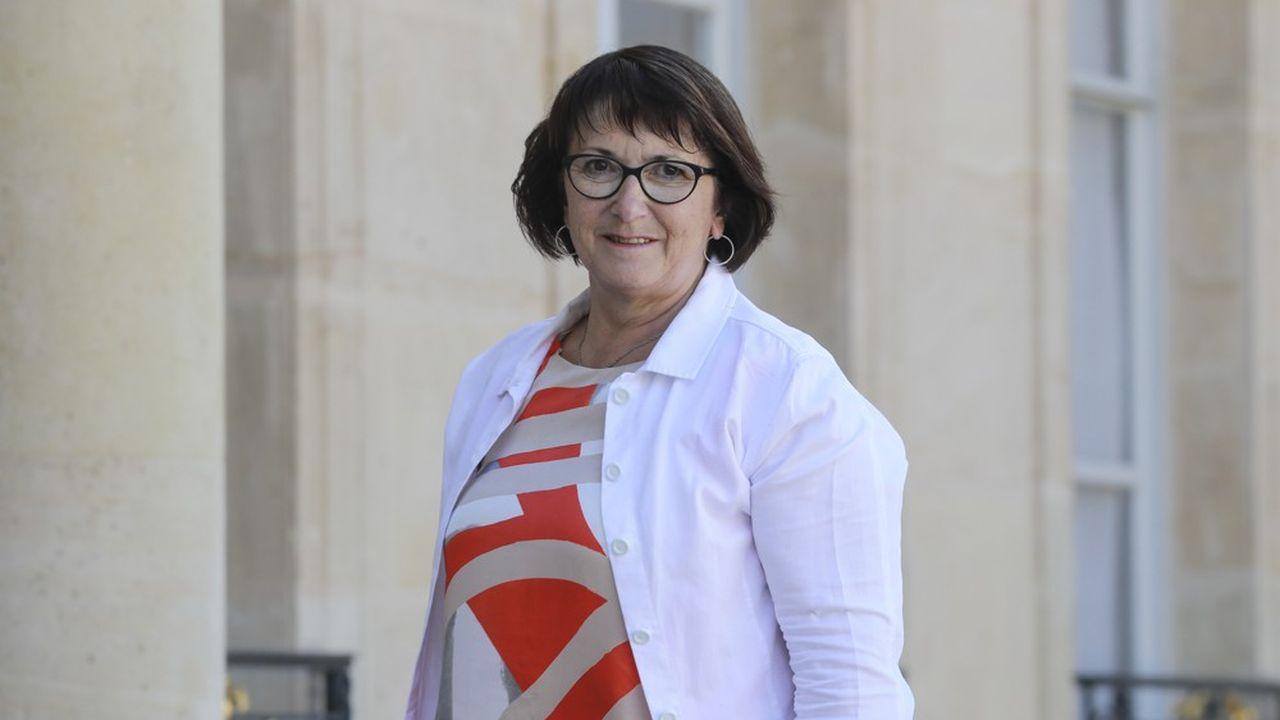 Christiane Lambert, 59 ans vient d'être reconduite dans ses fonctions pour un deuxième mandat de trois ans à la tête du syndicat agricole majoritaire (FNSEA).