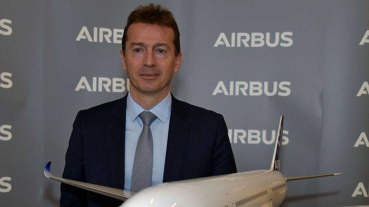 Face aux incertitudes sur l'évolution de la situation, le PDG d'Airbus, Guillaume Faury, veut restructurer rapidement l'avionneur.