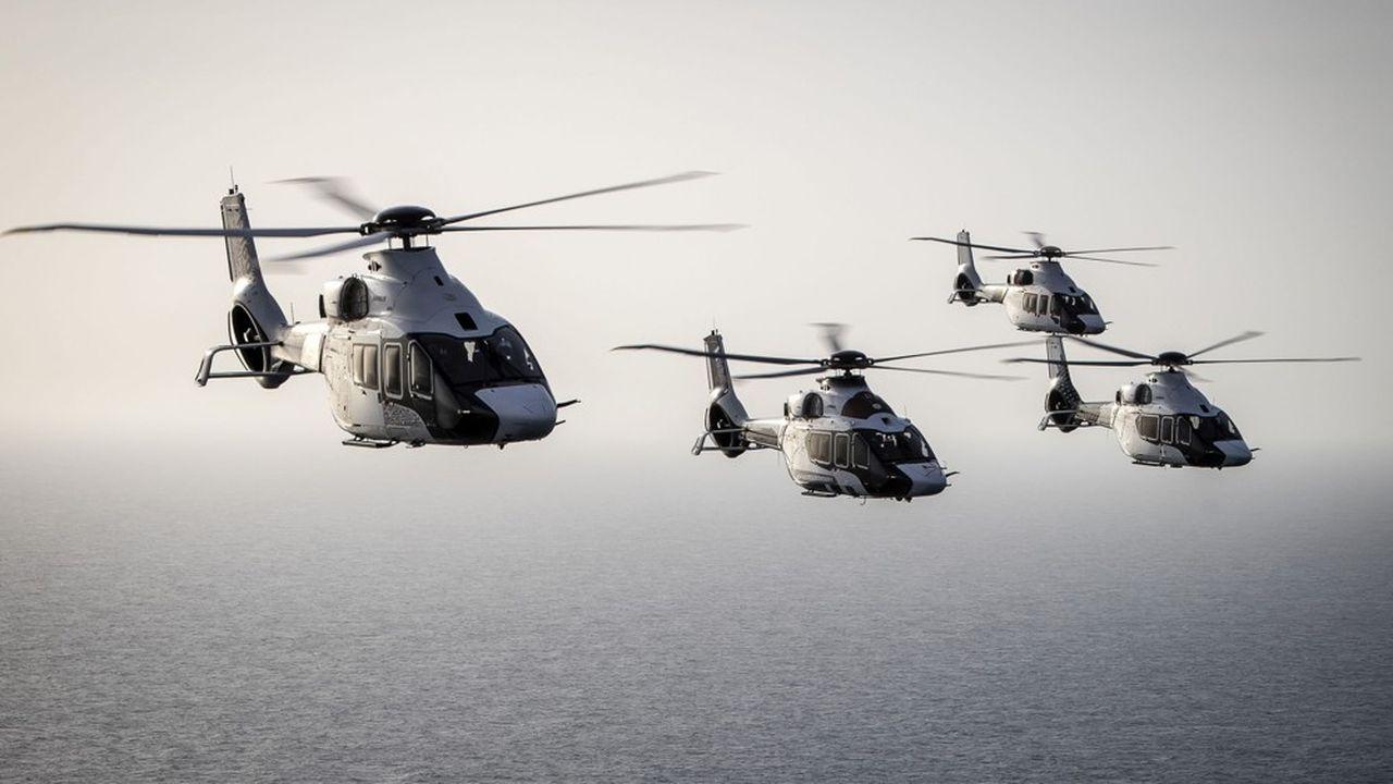 Top départ pour le nouvel hélicoptère H160, qui concentre toutes les innovations des dix dernières années d'Airbus Helicopters.