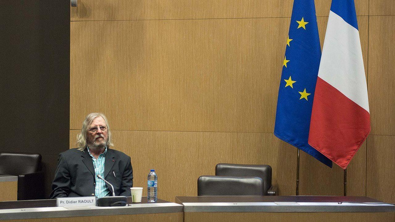 Didier Raoult a été auditionné à l'Assemblée nationale.