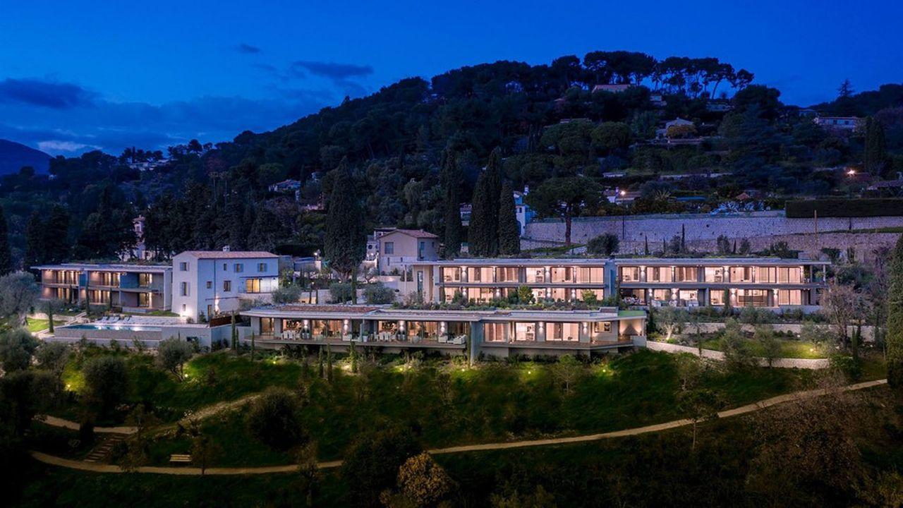 A Saint-Paul de Vence, sur la Côte d'Azur. Une propriété récemment vendue par Sotheby's Realty à des clients slovaques.