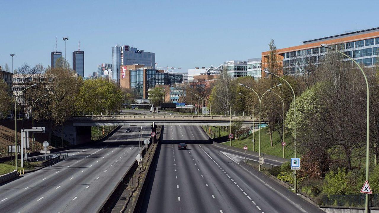 Le trafic routier a drastiquement diminué pendant le confinement entre mars et en mai en France.