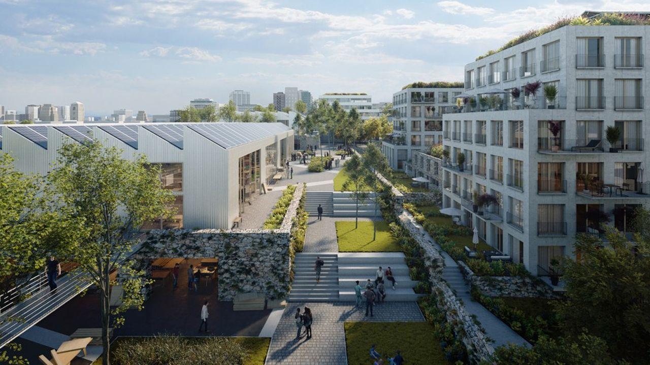 Le futur ensemble immobilier de 10.000 mètres carrés sera construit sur la ZAC des Simonettes-Nord.