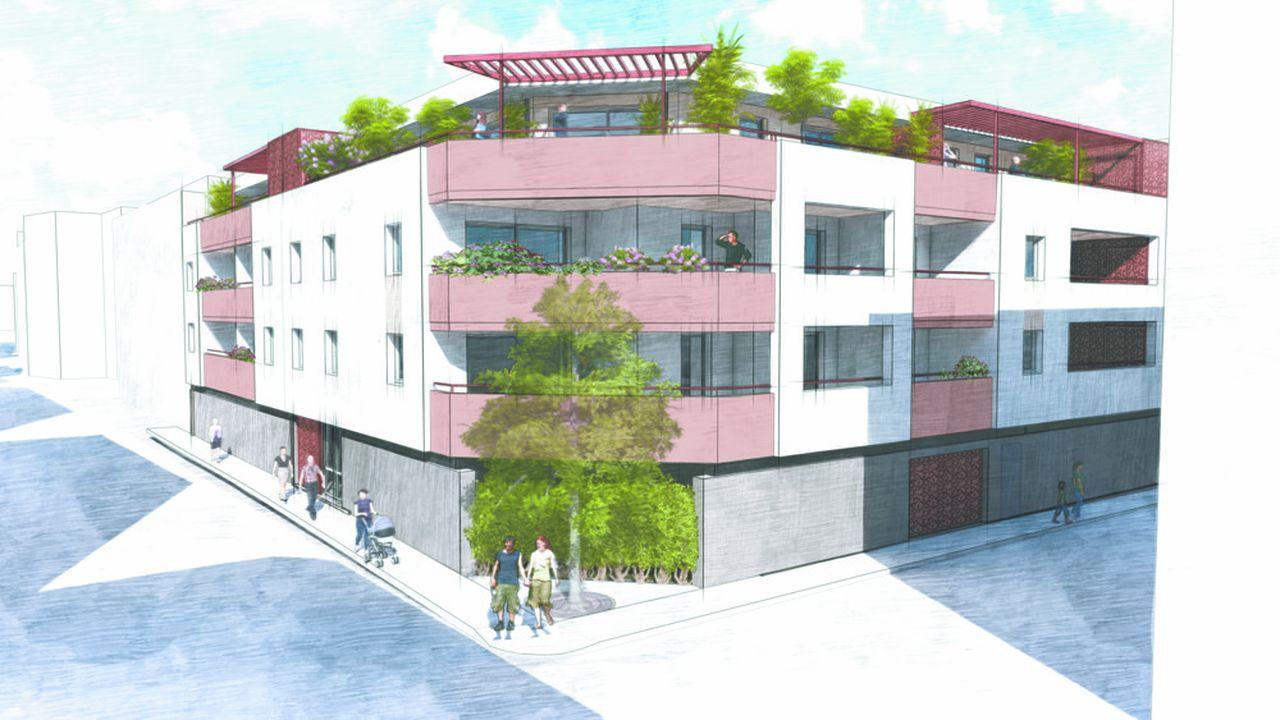 Gesimco Promotion lance la commercialisation de deux nouveaux programmes immobiliers: L'Empreinte Jaurès etles Coteaux de Védelin.