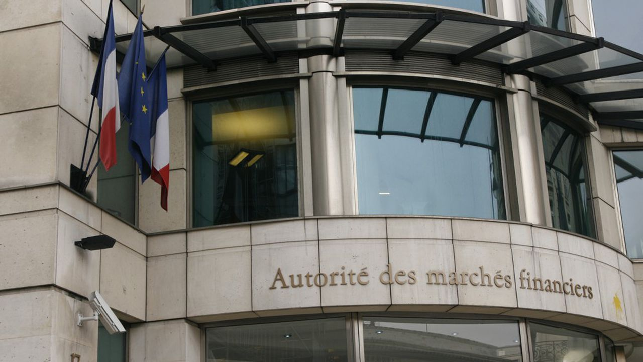 AMF Paris. AutoritŽ des MarchŽs Financiers