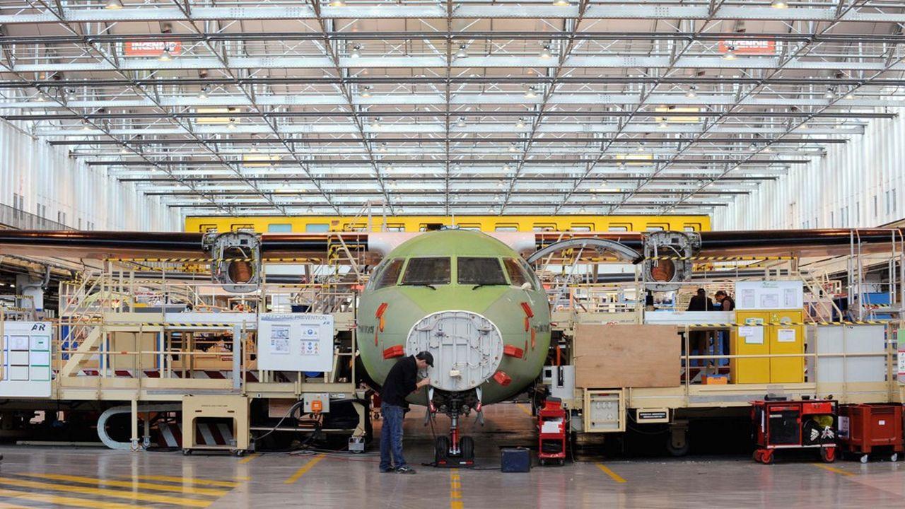 Le site toulousain d'assemblage des ATR 42 et 72 va perdre 186 emplois.