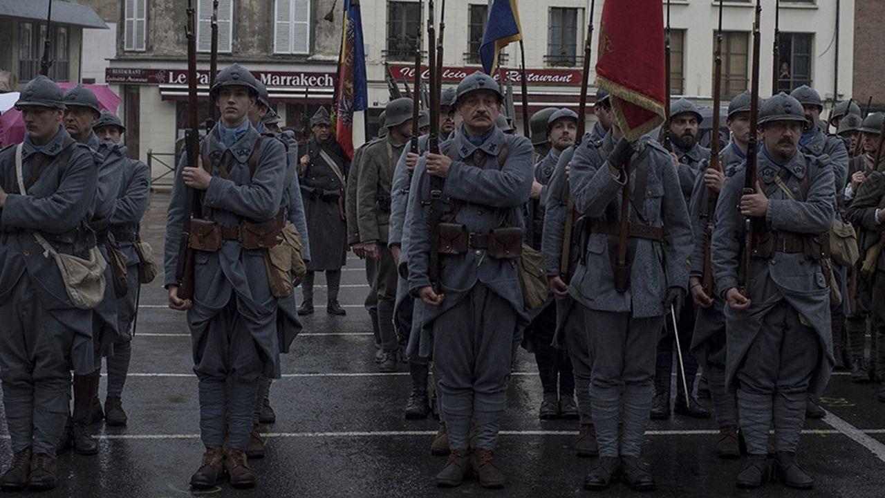Célébration de l'Armistice de 1918, le 11 novembre 2018, à Château-Thierry, dans l'Aisne. Jour de victoire pour les Français, jour tragique pour les Allemands… Une date délicate à inscrire dans un récit commun à tous les Européens.