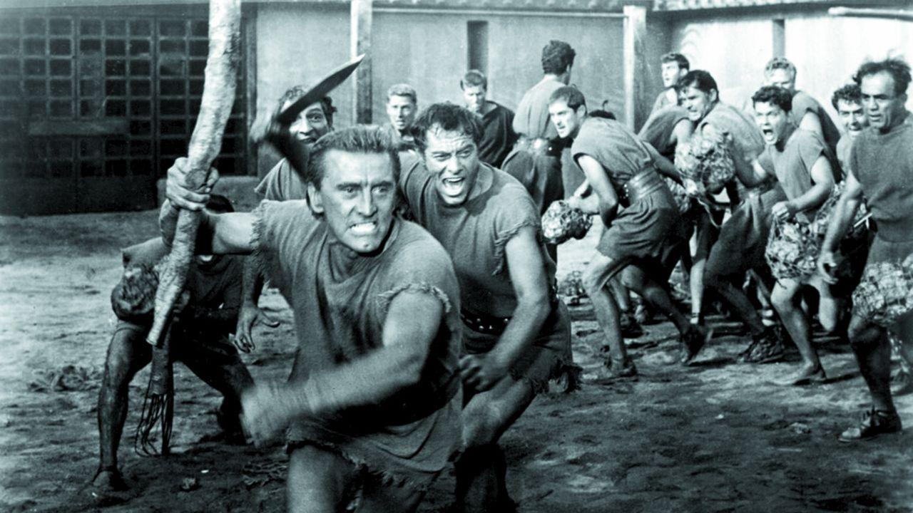 Kirk Douglas dans « Spartacus »