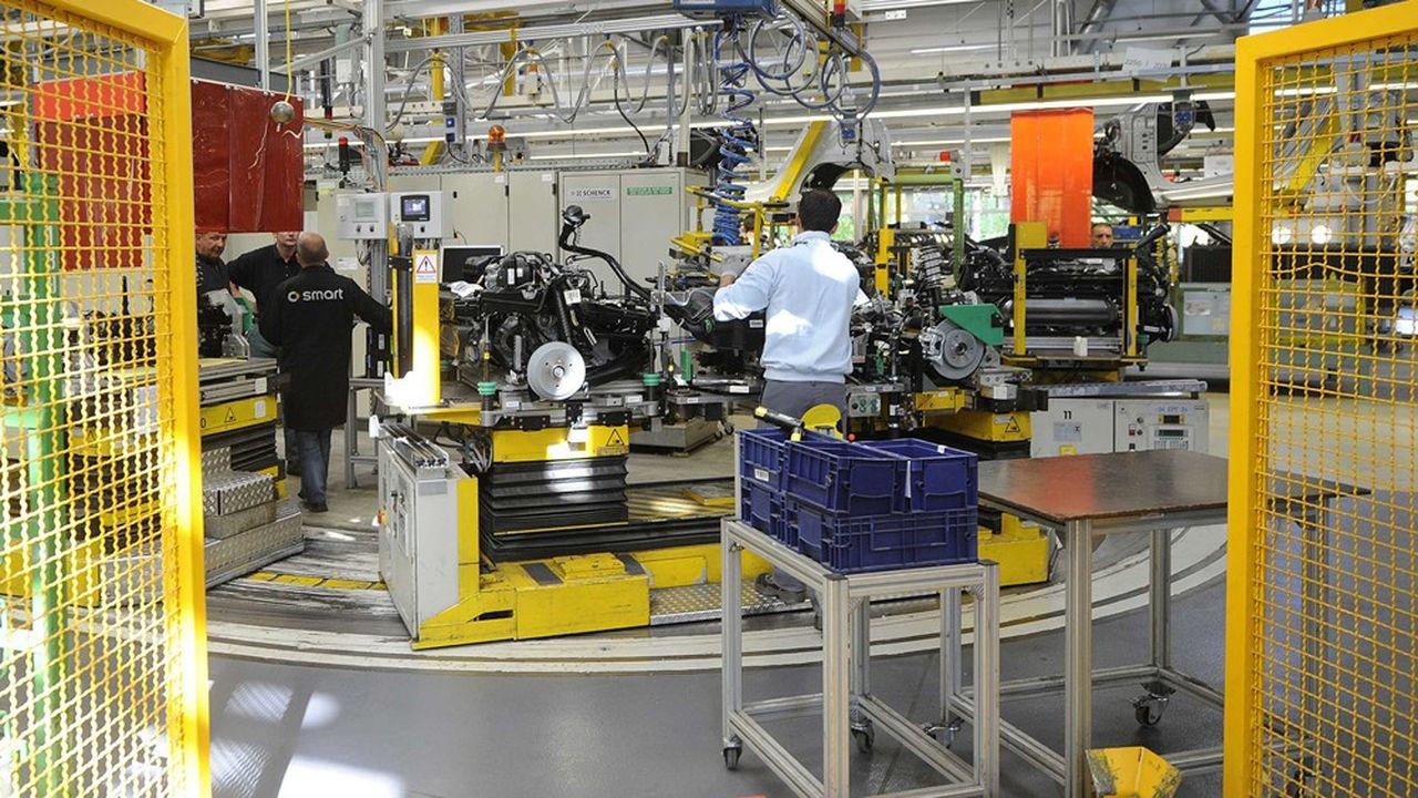 Coup de tonnerre en Moselle. Daimler-Mercedes a annoncé la mise en vente de l'usine Smart de Hambach, en Moselle.
