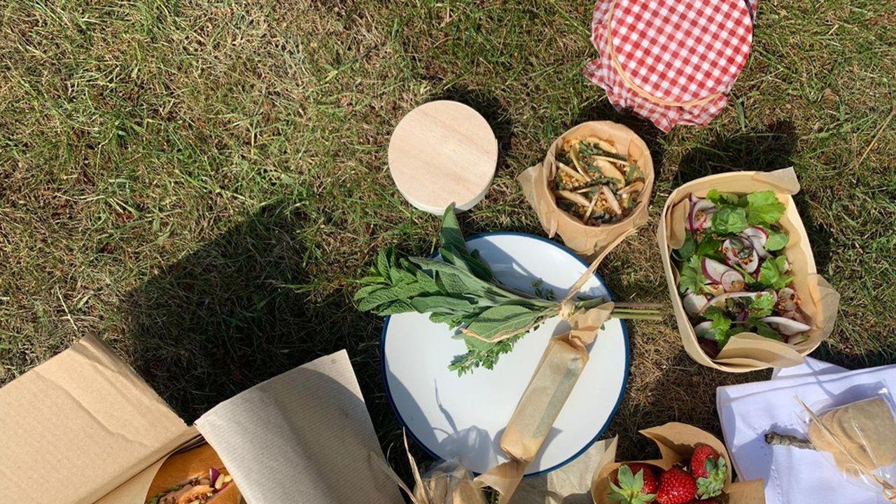 Gastronomie : des paniers pour pique-nique chic