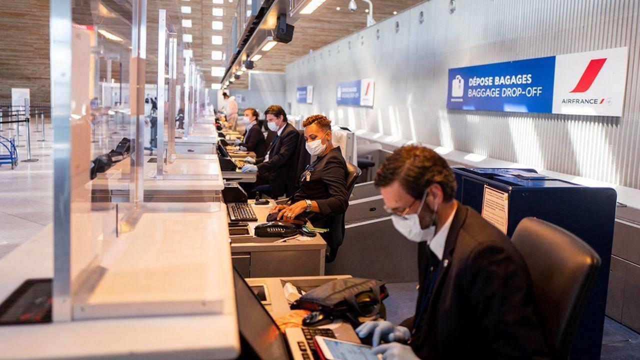 Air France n'a pas encore retrouvé plus de 30% de son trafic à Roissy et ne prévoit pas de retour au niveau de 2019 avant 2024.