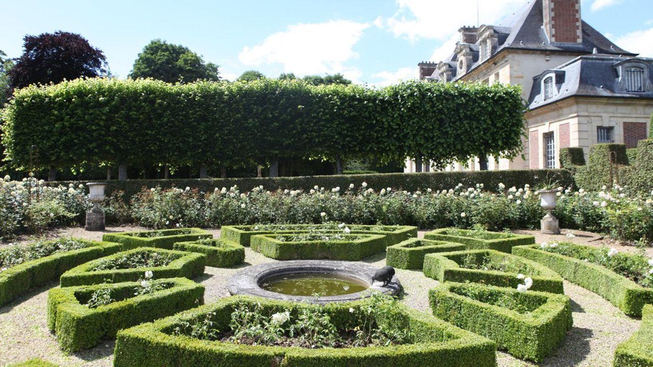 Le château de Corbeil Cerf, dans l'Oise, vendu en début d'année par Belles demeures de France.