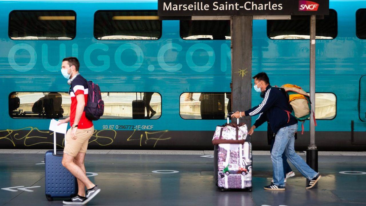 20millions de voyageurs sont attendus à bord des trains de la SNCF cet été, un chiffre en baisse par rapport à l'an dernier.