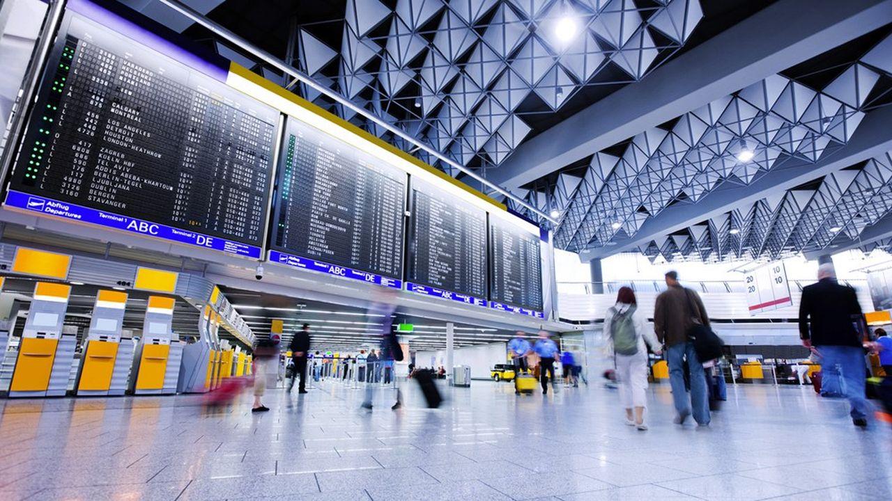 Les grands aéroports européens (ici celui de Francfort) ne connaîtront pas l'affluence des grands départs cet été.