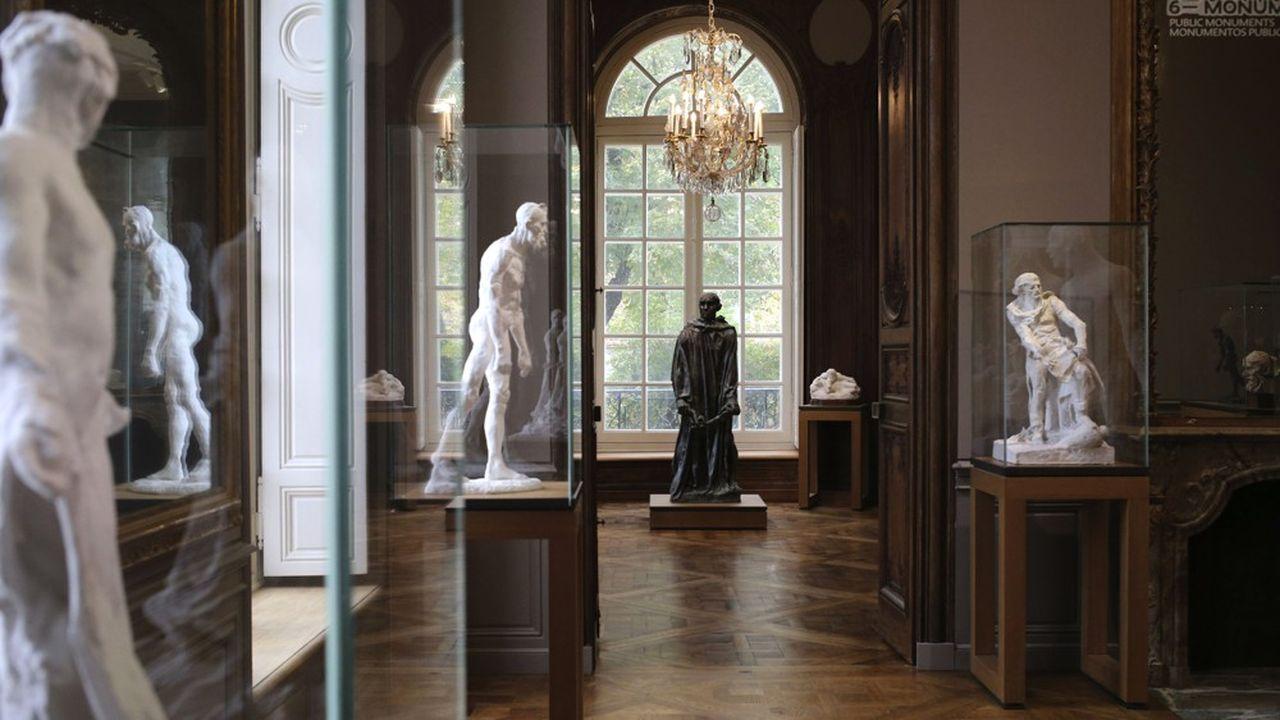 L'hôtel particulier Biron qui abrite le musée Rodin depuis 1919 a été rénové en profondeur.